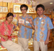 Japan Internship staff working in the gift shop